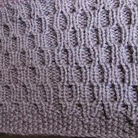 Thick yarn texture