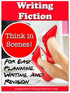 Writing fiction becomes much easier when you think in scenes. You can plot and structure stories more quickly; thinking in scenes makes revision easier too.