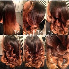 I loovveeee this color! I want my hair like this! Balayaged Ombré with Natural Root Love Hair, Gorgeous Hair, Curly Hair Styles, Natural Hair Styles, Colored Natural Hair, Do It Yourself Nails, Divas, Fall Hair Colors, Hair Laid