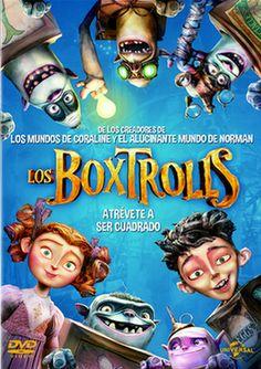 Los Boxtrolls - Signatura IDVD BOX Fucsia - Código de Barras: 3354660