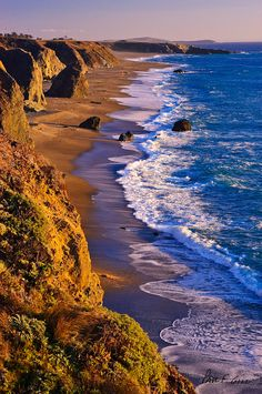 Pacific Coast, Sonoma County, California  photo via haley