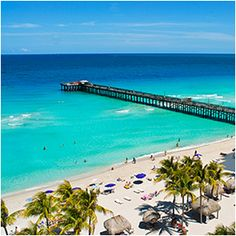 Miami Beach, FL--------The bluest waters I have ever seen! '12 Fam Vacation