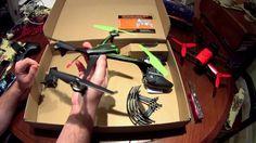 Sky Viper V2400HD FPV Streaming Drone: Unboxing