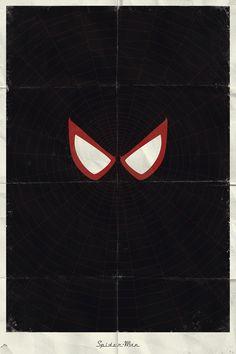 Desafio Criativo: Herois e Viloes da Marvel em Posteres Minimalistas