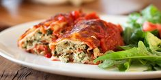 Ricotta and Spinach Canneloni - a Julie Goodwin recipe
