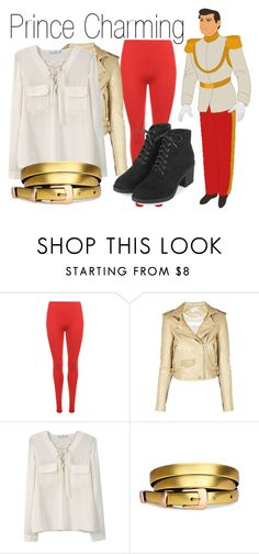 """Prince Charming~ DisneyBound"" by basic-disney ❤ liked on Polyvore featuring Disney, WearAll, IRO, MANGO and Topshop"