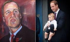 Duke of Cambridge's role as father to Prince George inspires portrait