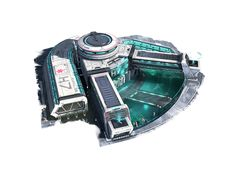 Lune | Anno 2205 | Ubisoft Officiel | Gestion urbaine PC Concept Home, Environment Concept Art, Futuristic City, Futuristic Architecture, Sci Fi City, Future Buildings, Sci Fi News, Star System, Matte Painting