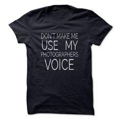 Photographers Voice T Shirts, Hoodies. Check price ==► https://www.sunfrog.com/Hobby/Photographers-Voice-NavyBlue-46770072-Guys.html?41382 $21.95