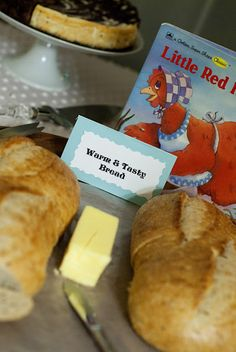 Little Red Hen bread