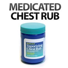 How Medicated Chest Rub will save your Relationship