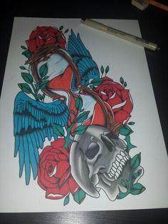Old school tattoo flash