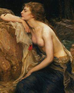 Lamia by Herbert James Draper del 1909