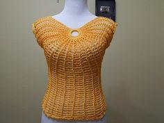 Patrones Crochet, Manualidades y Reciclado: BLUSA MARIPOSA A CROCHET PASO A PASO CON VÍDEO TUTORIAL