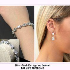 Rose gold Bridesmaid gifts Wedding Jewelry by thefabbridaljewelry