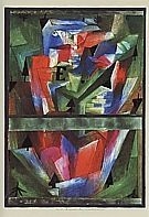 Paul Klee : Landscape Near E Bavaria  1921