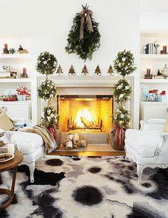 Decoração de Natal na sala de estar | Eu Decoro