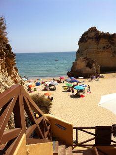 Caniço, a dream beach at the Portuguese Algarve