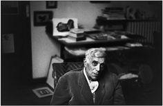Henri Cartier-Bresson, Le peintre Georges Braque, France, 1958. © Henri Cartier-Bresson/Magnum Photos.