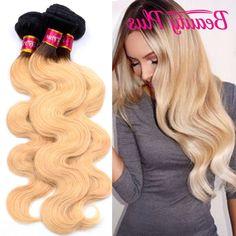 94.50$  Watch now - https://alitems.com/g/1e8d114494b01f4c715516525dc3e8/?i=5&ulp=https%3A%2F%2Fwww.aliexpress.com%2Fitem%2F7A-malaysian-dark-roots-blonde-hair-malaysian-body-wave-4-bundles1b-27-10-30-inch-ombre%2F32755668495.html - 7A malaysian dark roots blonde hair malaysian body wave 4 bundles1b #27 10-30 inch ombre virgin hair golden blonde ombre bundles