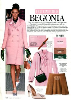 Color Crash Course Light pink - InStyle