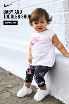 Introducing the Nike Baby and Toddler Shop. Exclusively for little athletes, sizes 0 months to 6 years. Now on Nike.com.