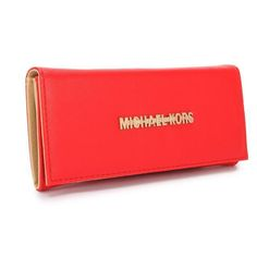 Best Michael Kors Fulton Carryall Large Red Wallets Popular In The World