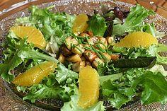Salat mit Honigchampignons | von fearingwolf | Chefkoch.de