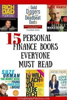 If you're looking for a few great books to help you to get your finances right, look no further. Here are personal finance books that have changed my life and have helped me to make more money, save more money, and fix my credit. #FinanceBooks
