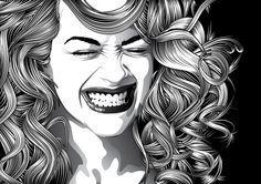 Illustrator Hair Tutorial