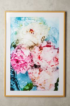 jessica kenyon for artfully walls abstract floral no 5 wall art - Wholesale Art And Frames