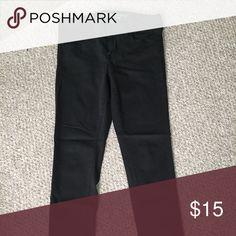 AMERICAN EAGLE BLACK JEGGINGS Super comfy black American Eagle jeggings. Never worn! Hollister Jeans Skinny