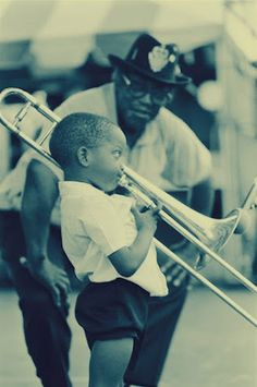 Everyone starts as a beginner.  Jazz - Young Trombone Shorty #DowhatyoulikeUSA