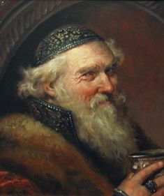 Боярин – картина художника Андрея Шишкина