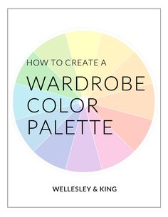 Summer Capsule Wardrobe Color Palette - Wellesley & King | Interested in creating your own capsule wardrobe? One of the first things your capsule will need is a color palette. Click to read more about choosing a summer color palette.