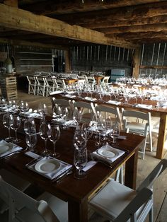 The Old Third (Harvest Tables in the Barn(2) - Higgins Event Rentals