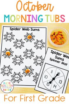 Your first grade students will be so excited to come to school to begin their day with these fun, interactive morning work tubs! With over 25 activities to choose from, my students can practice math, literacy, fine motor development, social skills, and more. First grade morning work tubs are also a wonderful way to introduce, review, and remediate different content areas and skills in your primary classroom.