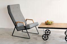 TONIO armchair designed by Grzegorz Korzeń. www.melyo.pl