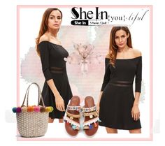 """""""Sheinside-XX/9"""" by nihada-niky ❤ liked on Polyvore featuring WithChic and Sheinside"""