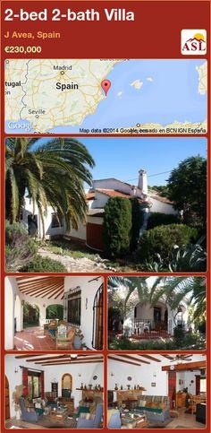2-bed 2-bath Villa in J Avea, Spain ►€230,000 #PropertyForSaleInSpain