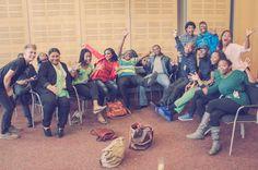 The Cape Town Opera Company chorus hard at play!