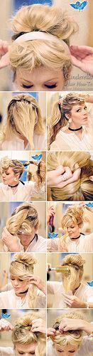 Cinderella Hair How-to-all-LOVEMAEGAN