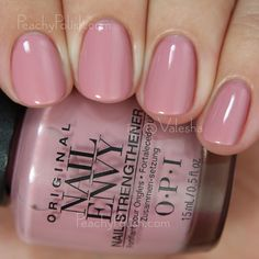 OPI Hawaiian Orchid | Nail Envy Strength In Color Collection | Peachy Polish