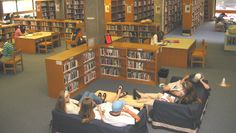 School Library Decorating Ideas | School Libraries as Piazzas