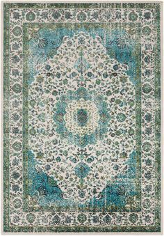 A series of striking designs will effortlessly embody current trend in your space in the inclusion of each and any of the dazzling rugs found within the Aberdine Collection. Machine made in Turkey in