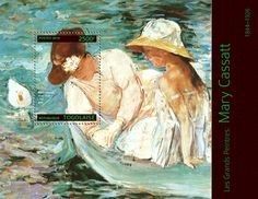 Shop Mary Cassatt - Summer at the lake Poster created by Stark_Raving_Realist. Personalize it with photos & text or purchase as is! Edgar Degas, Pierre Auguste Renoir, Edouard Manet, Camille Pissarro, Georges Seurat, Pablo Picasso, Mary Cassatt Art, Monet, Art Et Architecture
