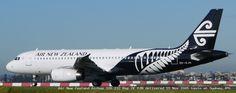 Air New Zealand Airbus 320 232 Reg ZK OJN delivered 15 Nov 2005 taxis at Sydney.JPG