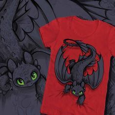 Official How to Train Your Dragon t shirt contest winners now in at WeLoveFine.com!