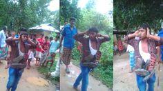 গাজীপুরে যে কারণে জুতার মালা পরতে হলো এই যুবককে। জানলে অবাক হবেন। TV News