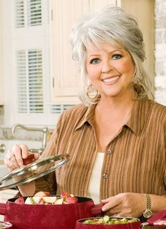 I love watching the Food Network and I find that I try more recipes that Paula Deen makes than any other cook on the network.  I am getting good at the Southern cooking!